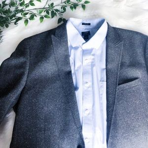 Calvin Klein Sports Coat Blazer Slim Fit Dark Gray